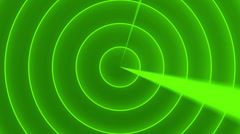 Radar, abstract loop motion background Stock Footage