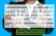 Stock Photo of Happy New Year 2013
