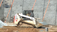 Construction Vehicle Stock Footage