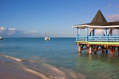 Dickenson Bay, Antigua Stock Photos