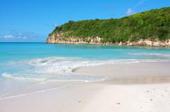 Dickenson Bay, Antigua - stock photo