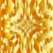 High grade gold metal background Stock Illustration