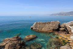 Golfo Paradiso, Liguria, Italy - stock photo