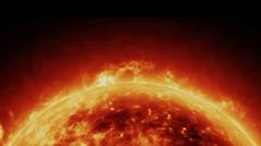 Sun Activity Stock Footage