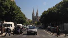Saint Vincent de Paul Church Stock Footage