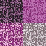 Decorative seamless floral background Stock Illustration