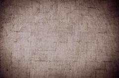 Brown cracked background Stock Photos