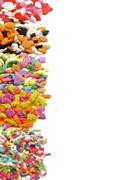 Multi Colored Sprinkles Stock Photos