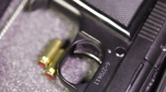 Starting gun Stock Footage