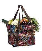 Shopper bag with fruits and vegetables Stock Photos