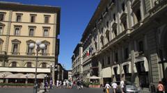 Piazza della Repubblica Stock Footage