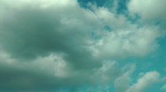 Stock Video Footage of AIRLINERS PASSING CLOUDS ON APPROACH TO HEATHROW AIRPORT