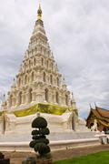 The chedi of wat chedi liam Stock Photos