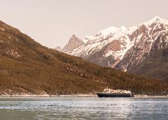 Southeast alaskan ferry Stock Photos
