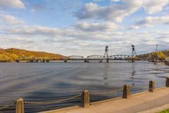 Stillwater Lift Bridge Stock Photos
