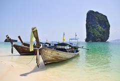 Island in Krabi Thailand Stock Photos