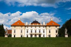 Castle in Slavkov  - stock photo