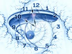 Stock Illustration of Time fragments