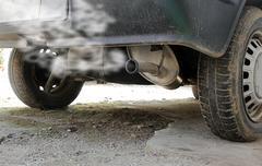 Car smog Kuvituskuvat