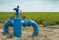Irrigation systems Stock Photos