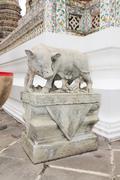 Pig statue Stock Photos