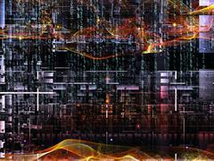 Stock Illustration of Diversity of Digital Network