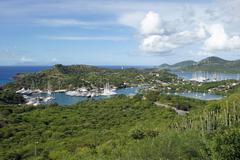 English harbour and nelsons dockyard, antigua and barbuda, caribbean Stock Photos