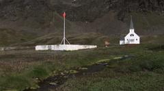 Whaling Station Grytviken Stock Footage