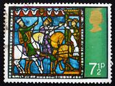 Stock Photo of Postage stamp GB 1971 Journey of the Kings