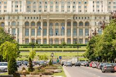 Stock Photo of Palace of Parliament In Bucharest