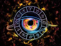 The Eye of Zodiac Stock Illustration