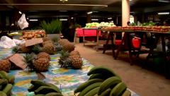 Fruit and veg market, people or person in shot, HD, UP15308 - stock footage