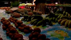 Fruit and veg market, HD, UP15309 Stock Footage