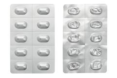 Medicine in blister pack Stock Photos
