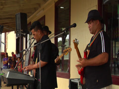 Modern Tongan band, people or person in shot, HD, UP15339 - stock footage