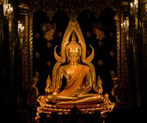 Stock Photo of The  buddha statue  in Sukhothai historical park,