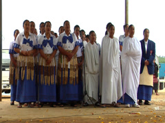 Tongan choir, people or person in shot, HD, UP15380 Stock Footage