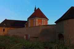 the rein abbey is a cistercian monastery in the municipality rein in styria - stock photo