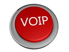 voip - stock illustration