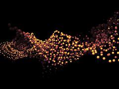 Realms of Molecule - stock illustration