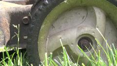 Lawn Mower, Grass Cutter, Landscaping Stock Footage