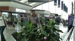 Chengdu Shuangliu Airport Sichuan China 12 Stock Footage