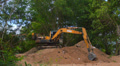 Excavator Working 2 HD Footage