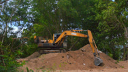 Stock Video Footage of Excavator Working 2