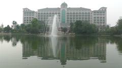 Jintang Hengda Hotel Sichuan China 1 Stock Footage