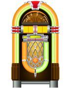 jukebox - stock illustration