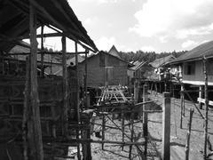 Fisherman village Stock Photos