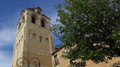 Collegiate Church of San Isidoro, Leon Spain - stock footage