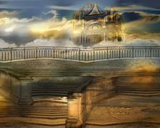 The celestial palace Stock Photos