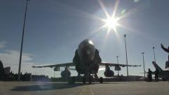 FA18C Hornet Aircraft Roll Stock Footage